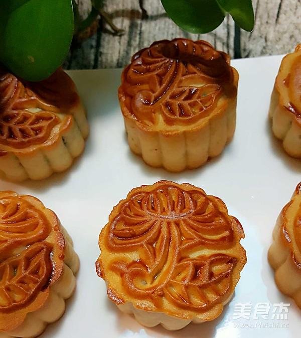五仁月饼的做法_家常五仁月饼的做法【图】