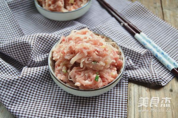 白萝卜猪肉饺子馅的做法