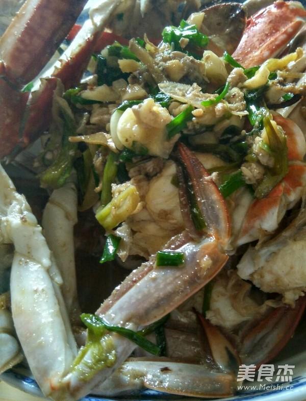 清炒梭子蟹的做法_步骤清炒梭子蟹的家常【图香酥虾的具体做法图片