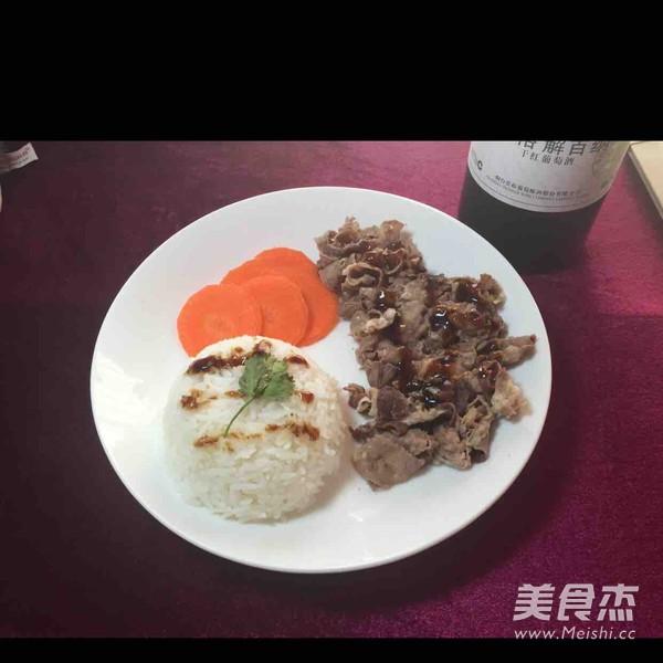图中做法饭的肥牛_做法黑椒餐厅饭的家常【黑椒肥牛赵薇吃的午餐肉图片