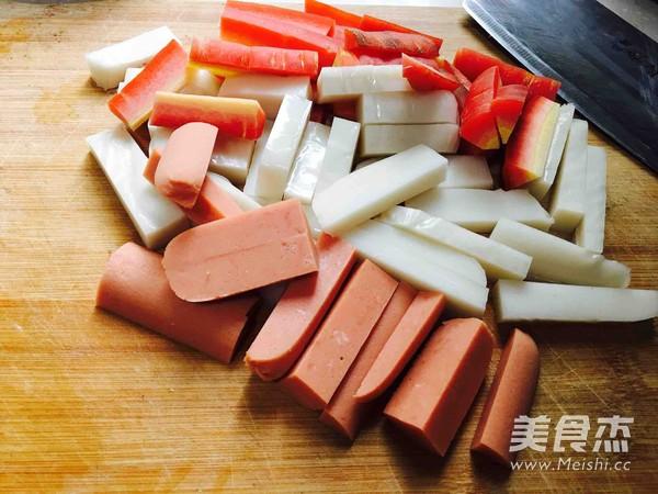 韩式年糕的做法