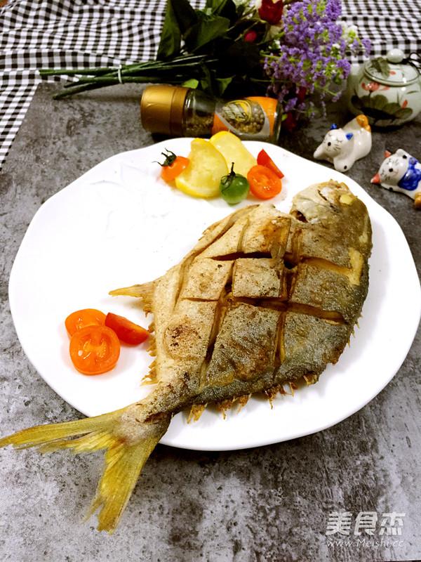 最正宗的柠香煎金鲳鱼做法鲳鱼冬瓜汤图片