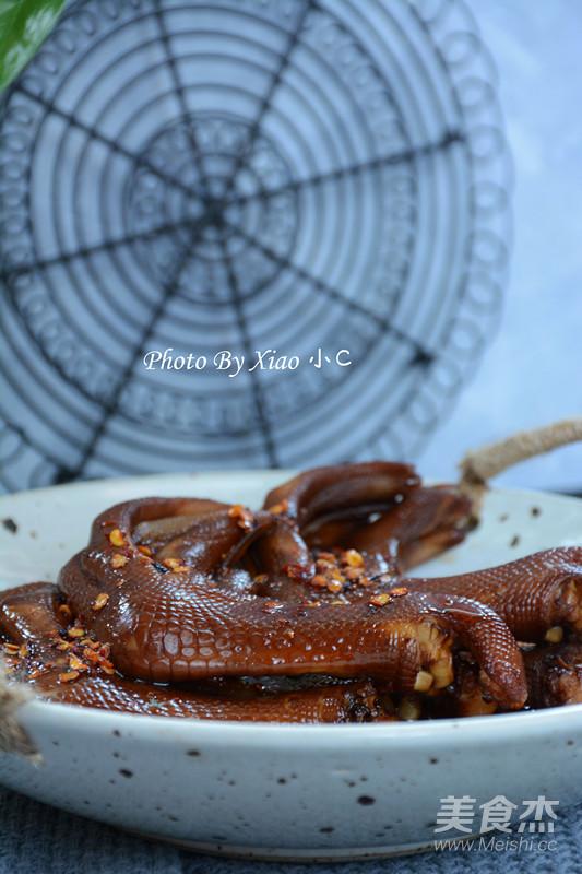 红油卤香做法的爸爸【排骨图】_鸭掌_步骤杰梦见美食买菜谱图片