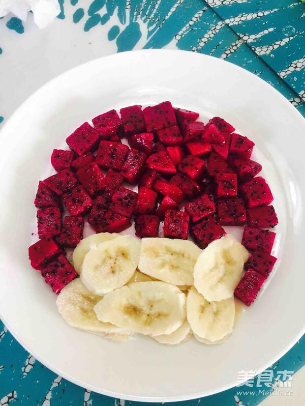 胖红水果拼盘的做法