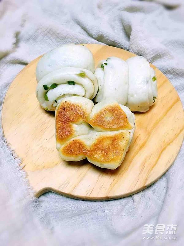 香煎椒盐葱油花卷的家常做法大全