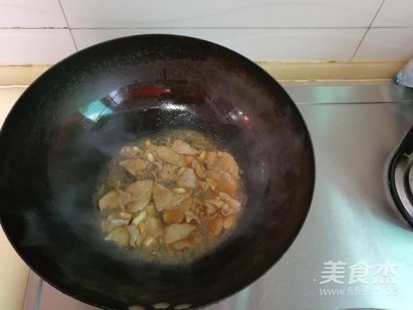 毛豆榨菜玉米粒炒肉的做法【食谱图】_步骤_期间菜谱皮肤过敏图片