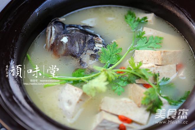 苏泊尔中华炽陶鱼头炖天麻猪肉冻吃多了图片