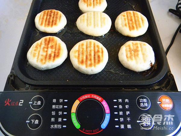 奖 黑芝麻红糖发面饼的做法 家常 苏泊尔季度奖 黑芝麻红糖发面饼的图片
