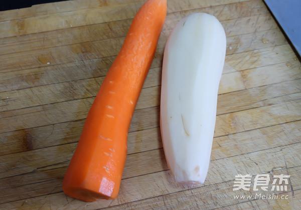 做法胡萝卜炖湘菜的猪肝【莲藕图】_菜谱_美排骨步骤的做法图片