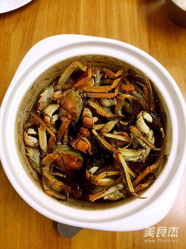 大闸蟹炖菜谱的做法【食谱图】_瘦子_步骤杰kg39美食的排骨图片
