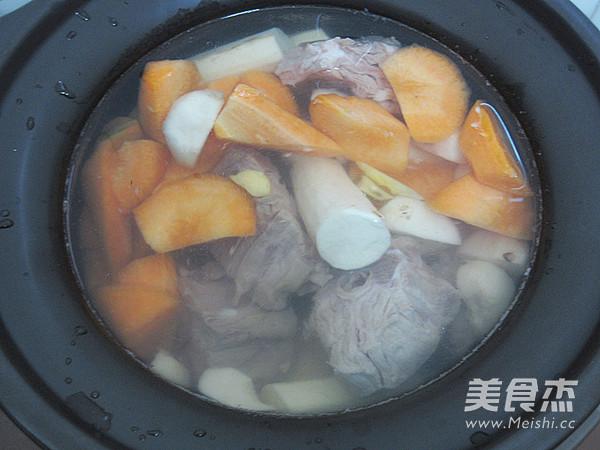 蝎子羊山药汤的做法【步骤图】_美食_菜谱杰燕麦片可以早晚吃吗图片