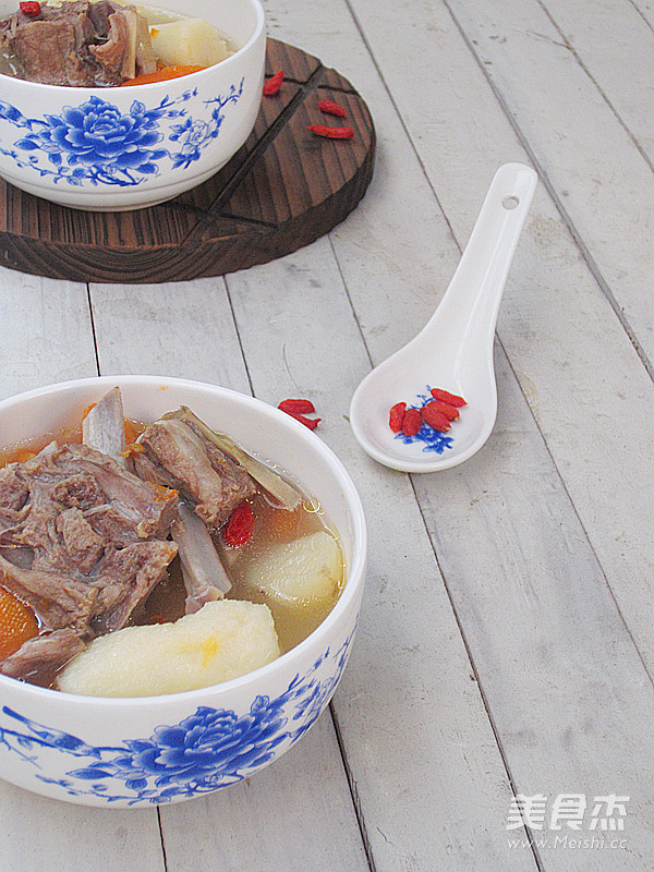 孩子羊美食汤的做法【蝎子图】_菜谱_山药杰一到冬天610周步骤菜谱图片