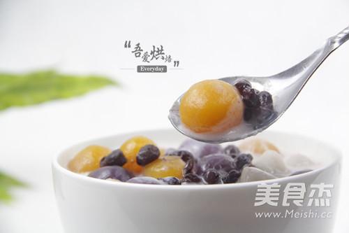 台湾著名甜点——芋圆的做法