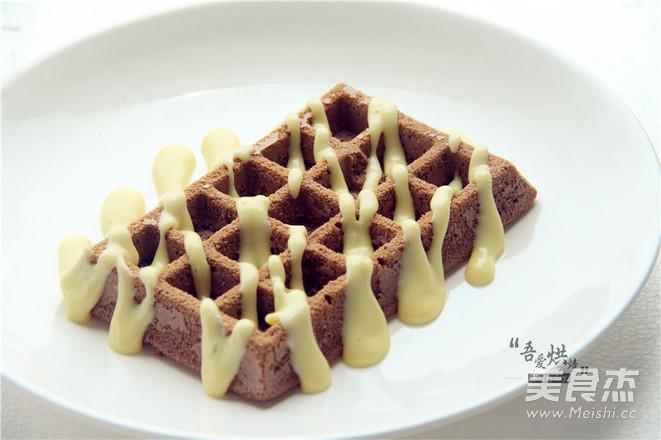 风味格格——巧克力华夫饼的做法