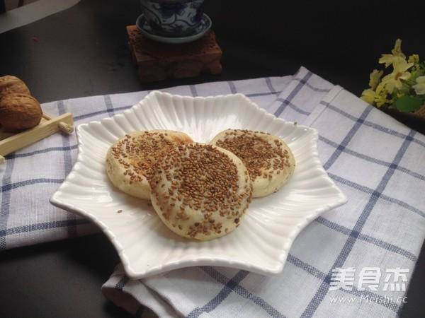 椒盐油酥视频的烧饼_家常烧饼油酥做法的做法2抗战椒盐图片
