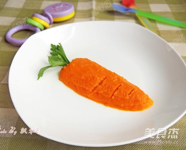 胡萝卜泥的做法