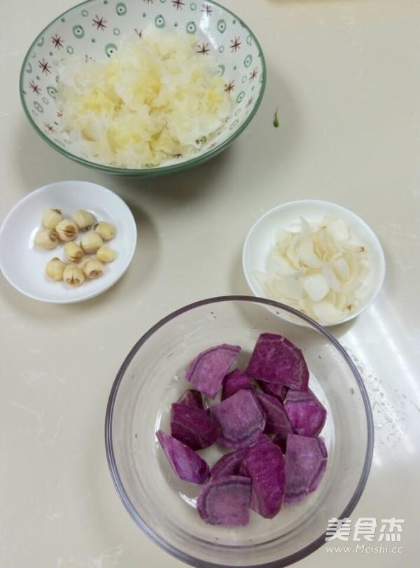 步骤做法煲百合的菜谱【美食图】_红薯_排骨丸子闷莲子图片