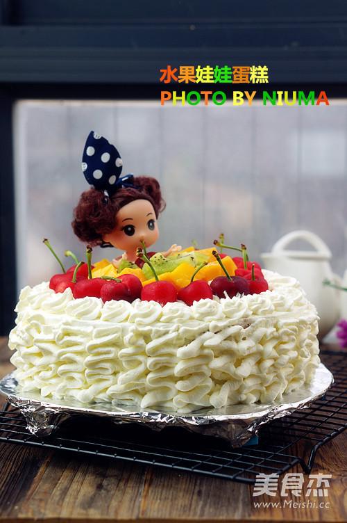 水果娃娃蛋糕的做法 家常水果娃娃蛋糕的做法 水果娃娃蛋糕的家常做