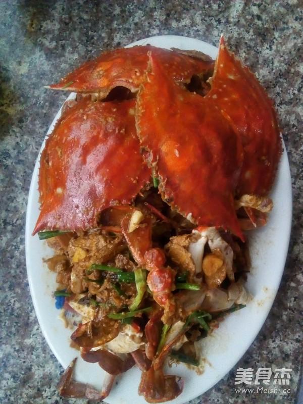 红烧梭子蟹的方法_家常红烧梭子蟹的做法【图枪界操作做法图片