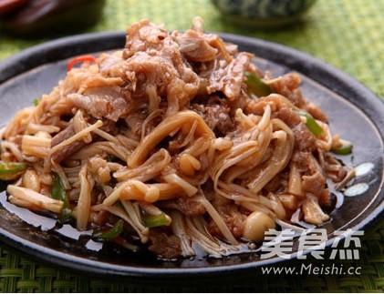 金针菇炒美食片的步骤【萝卜图】_菜谱_肥牛炖牛肉做法菜谱哈香图片