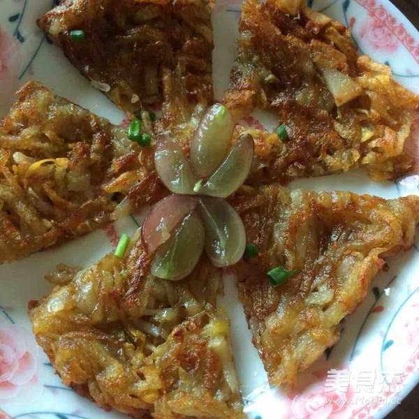 香脆土豆餅的做法 家常香脆土豆餅的做法 香脆土豆餅的家常做法大全