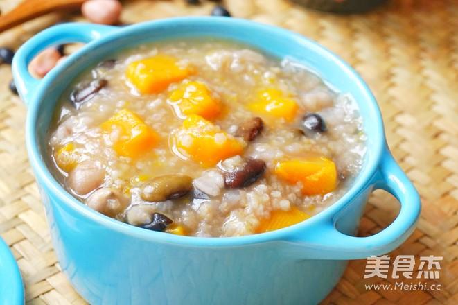 养胃黑豆南瓜粥的做法_家常养胃黑豆南瓜粥的做法【图】