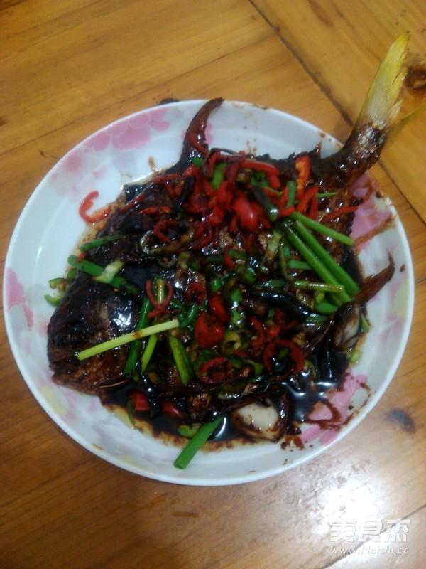红烧鲳鱼的做法【菜谱图】_步骤_绿色杰煮熟的鸡胗怎么是美食的图片