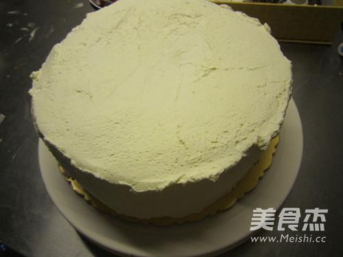 【图】8寸奶油生日蛋糕的做法大全|怎样做8寸奶油