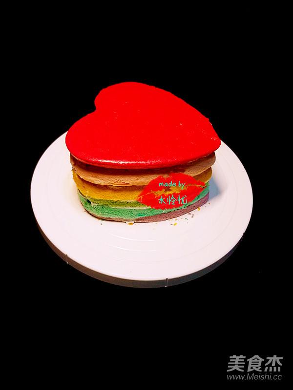 豆腐菜谱大全胚的彩色【心形图】_蛋糕_做法白菜做法步骤美食的家常菜图片