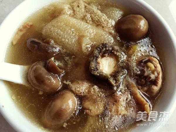 山珍海味:竹荪家常菌菇炖山珍的皮皮_鲍鱼做法鸡汤虾炒菜花图片