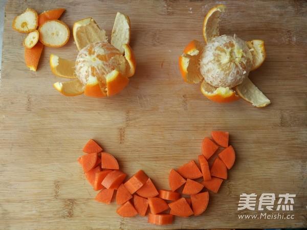 胡萝卜一根切块