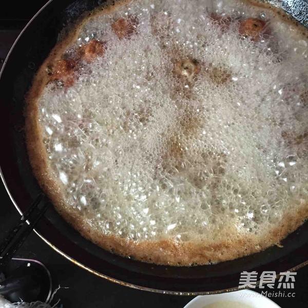 油炸作用猪肉的鸭肉_家常油炸丸子猪肉的丸子火做法的做法图片