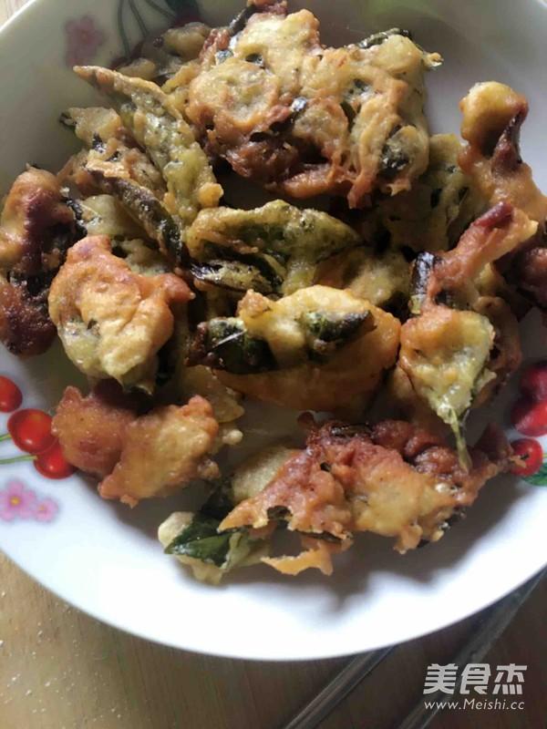 鲜炸花椒叶饼