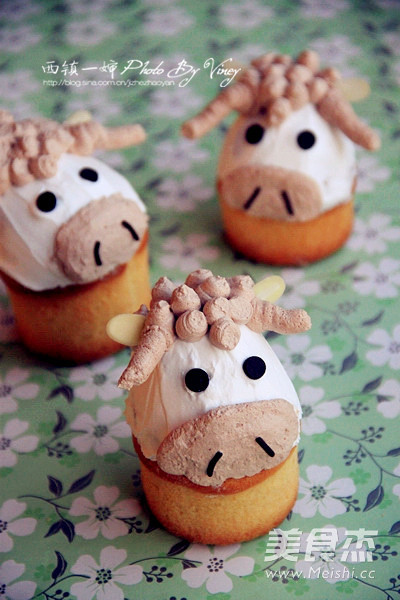 动物头像蛋糕图片