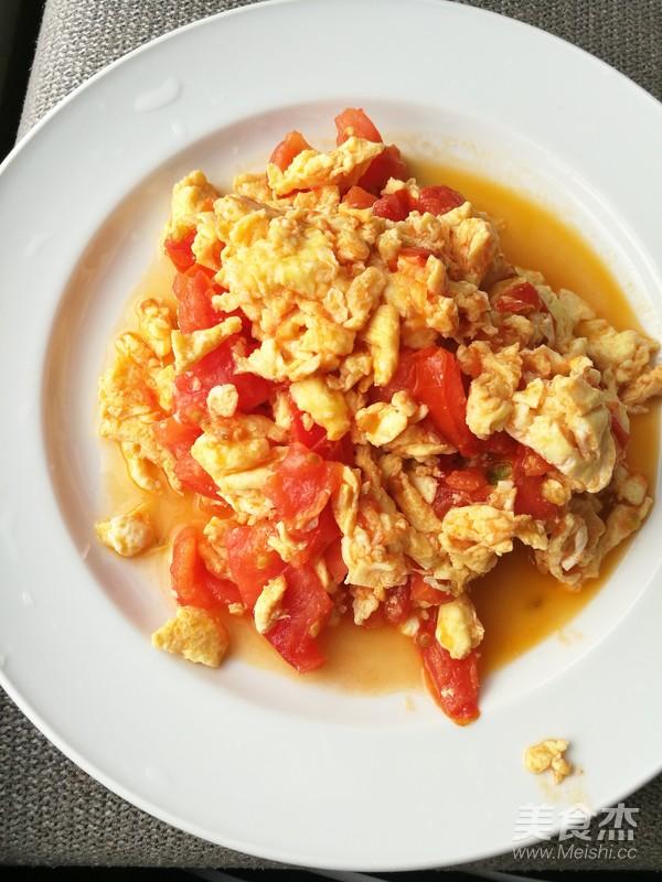 番茄炒蛋的做法【步骤图】_菜谱_美食杰