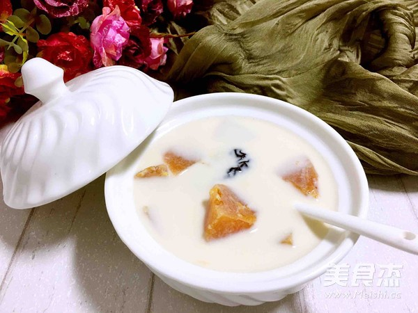 木瓜炖牛奶下奶的原理_木瓜炖牛奶,它含有丰富的木瓜酶、多种维生素、钙和矿物质等营养.