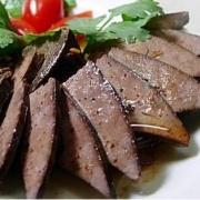 猪肝(卤煮)