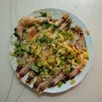 舒畅媛媛蒜蓉蒸虾的做法