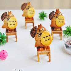 龙猫饼干#长帝烘焙节#
