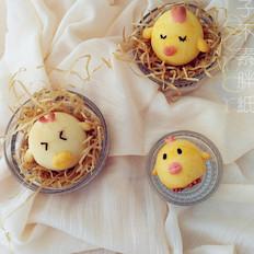 新年食谱——憨态可掬的小鸡烧果子(减糖版)