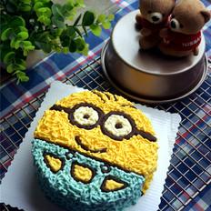 小黄人造型芝士蛋糕