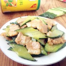 五花肉炒黄瓜