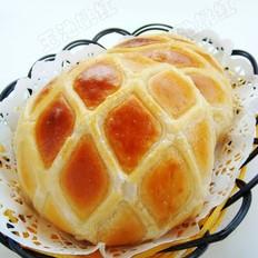 酥皮格子面包