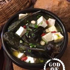 清炖黄颡鱼枸杞豆腐汤