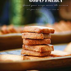 零基础烘培小白也能做出自信满满的粗糖奶油酥饼