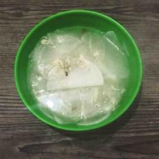 萝卜虾米汤