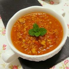 自制番茄肉酱