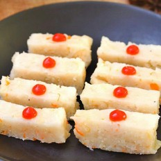 鲜贝萝卜蒸糕  宝宝健康食谱