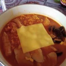 韩式年糕火锅面