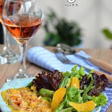 香橙鸡柳沙律-夏季的开胃菜